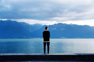 jeune en deuil suicide